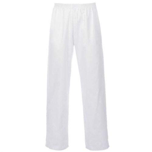 Supertouch Polycotton White Food Trousers